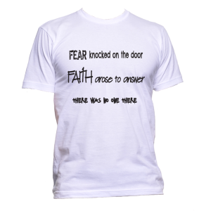 Fear Knocked Faith Rose
