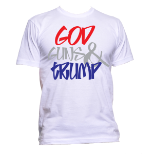 God Guns Trump T Shirt