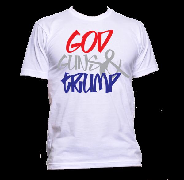 God Guns Trump T Shirt
